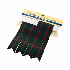 Heritage Of Scotland Men's Wool Adults Scottish Tartan Kilt Flashes