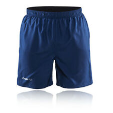 Craft Active Run Herren Laufhose Jogging Shorts Sport Kurze Hose Sporthose Blau