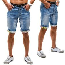 Y-Two 2330 Short Kurzehose Herren Short Jeans Clubwear Men Freizeit 7G7 Casual