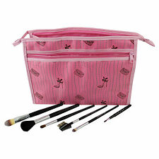 Makeup Brushes Set Foundation Professional Cosmetic Kit Powder Contour Bag 7 Pcs