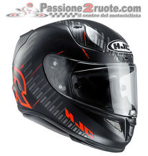 Casco integrale Hjc Rpha11 Rpha 11 Epik Trip mc1sf nero rosso black red moto