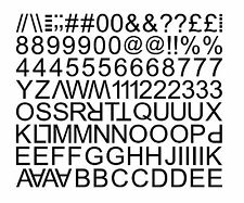 """1"""" & 2"""", 3"""" STICKY SELF ADHESIVE VINYL LETTERS AND NUMBERS / Advertising Label"""