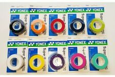 3 Yonex Super Grap Grips/Overgrips - Choice Of Colours - Free P&P
