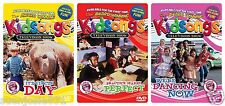 Kidsongs TV Show Assorted DVD 1ct Circus Day Paractice Makes Perfect Dancing Now