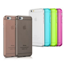 kwmobile TPU SILIKON CRYSTAL CASE FÜR APPLE IPHONE 6 6S HÜLLE KLAR HANDY BUMPER
