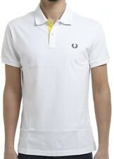 Polo T-shirt Maglia Uomo Men Fred Perry Made Italy V0036