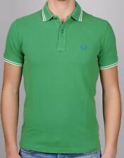 Polo T-shirt Maglia Uomo Men Fred Perry Made in Italy Slim Fit 3191