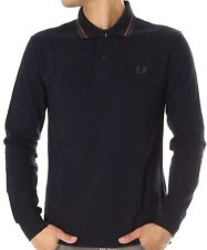 Polo T-shirt Maglia Uomo Men Fred Perry Made Italy 30162024