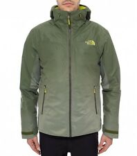 GIACCA THE NORTH FACE FUSEFORM DOT MATRIX INSULATED SCALLION GREEN SIZE L JACKET