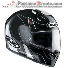 Casco integrale Hjc Fg-17 Fg17 Zodd MC5 nero black moto in fibra
