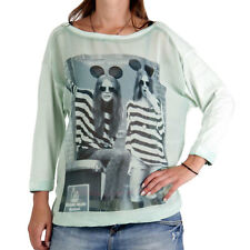 DECAY Premium Collection Damen Shirt Mickey Mint MD462