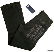 Pantaloni Murphy and Nye Trousers Uomo Men casual pantalone Sheep patch ricami