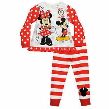 Disney Minnie Mouse Pyjamas | Minnie PJs | Disney Pyjamas | NEW