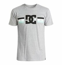 DC Shoes Flagged Tee T-Shirt Heather Grey Skate Skateboard