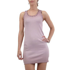 NOLITA Damen Tank Top Long Shirt Kleid Rain Purple 12DMT0014