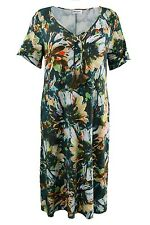"ULLA POPKEN Shirtkleid in Allover ""Jungleprint"" multicolor NEU"