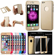 New 360° Full Protective Hard Case Shell Cover Bumper Case For iPhone 6S,5SE,6+