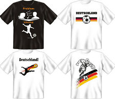 T-Shirt Fun-Shirt Fussball Deutschland Germany S M L XL XXL XXXL