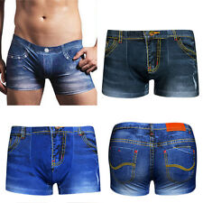 New Fashion Underpants knickers Sexy Mens Boxer Briefs Shorts Underwear Pants EW