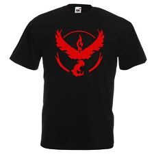 GoTshirts - Pokemon - Team Valor Crest - Black Mens T Shirt