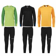 Uhlsport Tower Junior Torwart Set Torwarttrikot + Hose gepolstert Kinder Trikot