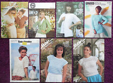 Various Crochet Patterns Women Tops Skirt- Please Choose from the Drop-down Menu