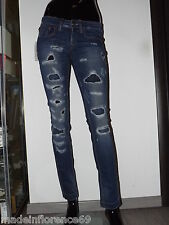 FORNARINA JEANS PIN UP SKINNY 27 28 29 30 31 32 TÜCKEN FLICKT