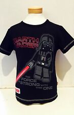 LEGO Wear- T-Shirt Gr.116-146 Star Wars Darth Vader Neu mit Etikett