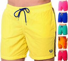 Costume Boxer Mare Uomo Fred Perry Made in Italy Boxer Men Swimsuit