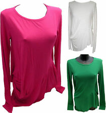 Maglia Donna Denny Rose Fucsia Sweater Woman Made In Italy  3985