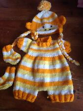 Dolls Clothes Outfit For Fit A 12 Inch Baby Doll Reborn Yellow Monkey NO DOLL