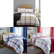 Catherine Lansfield Home St Ives Check Duvet Cover Set