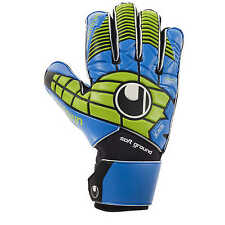 Uhlsport Eliminator Soft Pro Torwarthandschuhe Goalkeeper Gloves blau/power grün