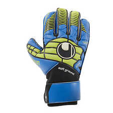 Uhlsport Eliminator Soft Rf Comp Torwarthandschuhe GK Gloves blau/power grün