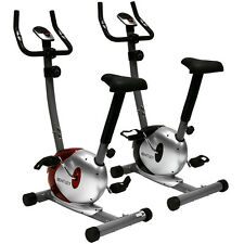 Charles Bentley Magnetic Exercise Indoor Cardio Bike Machine Black Or Red