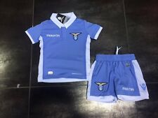 FW16 LAZIO MACRON SET KID HOME MAGLIA PANTALONCINI SHIRT + SHORTS JUNIOR