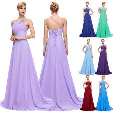 Cheap Long Chiffon Formal Evening Dress Bridesmaid Party Cocktail Prom Ball Gown