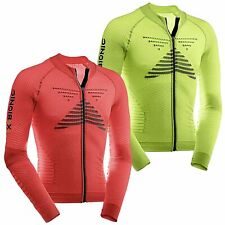 X-Bionic Biking Man Effektor Power Shirt Lang Full Zip Fahrradshirt Fahrrad Bike
