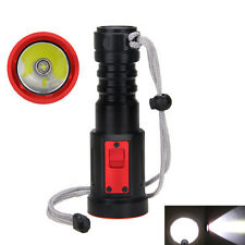Rechargeable 5000lm XM-L2 LED Diving Torch Flashlight 18650 light Lamp 3 MODES