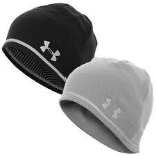 Under Armour 2016 Mens UA No Breaks T400 Run Beanie ColdGear Thermal Hat