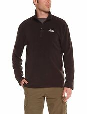 THE NORTH FACE M 100 Glacier Herren Fleecepullover 1/4 Zip Pullover black M,L,XL