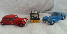 Solido 1:43 scale group of three diecast models