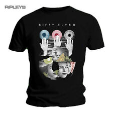 Official T Shirt BIFFY CLYRO Black Ellipsis HANDS Logo All Sizes