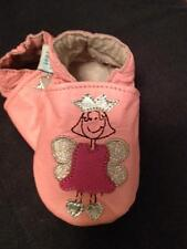 NEW SOFT LEATHER BABY PRAM SHOES 0-6, 6-12, 12-18 & 18-24 MTHS PRINCESS