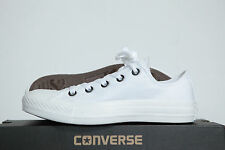 Converse Chucks All Star baskets basses Mono blanc 1U647 Taille 45 ROYAUME-UNI