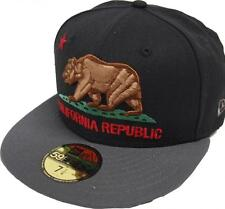 New Era California Edition Cali Republic Black Cap 59fifty Fitted 5950 limited