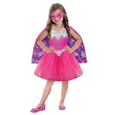 Girls Barbie Power Princess Costume for Doll Fancy Dress Outfit