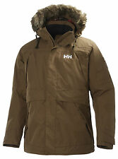 HH Helly Hansen Coastal Parka  55968 mossy rock  Funktionsparka 3/4 Jacke