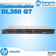 HP DL360 G7 Doppel Intel Xeon Hex Kern Server P410 Anpassbar CPU RAM 1U