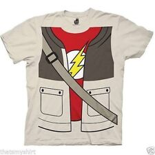 New Authentic The Big Bang Theory Sheldon Trompe Loeil Adult Costume T-Shirt